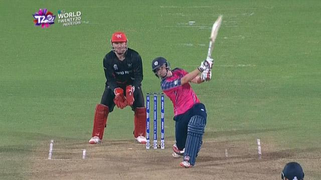 Cricket Highlights from Scotland Innings v Hong Kong ICC WT20 2016