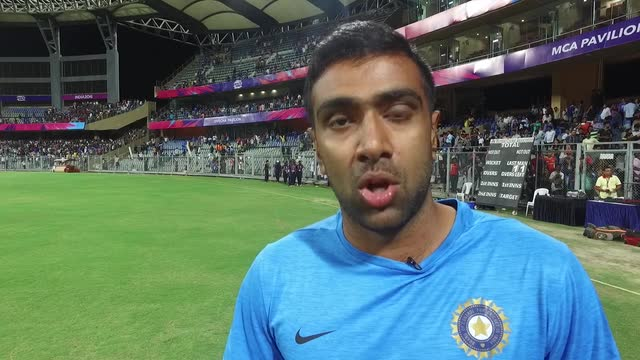 Ravichandran Ashwin after a thirlling warm-up match v South Africa