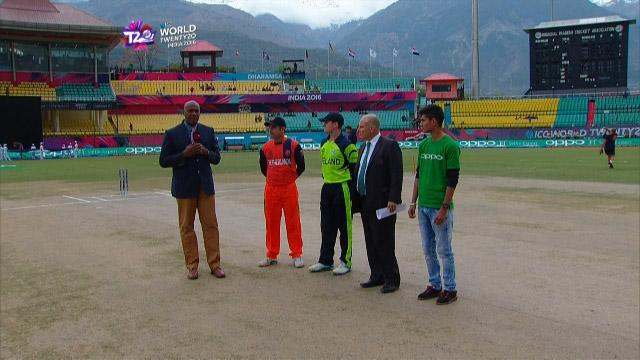 Ireland wins Toss against Netherlands Match 11 ICC WT20 2016