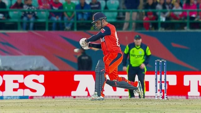 Netherlands Innings Super Shots v ZIM ICC WT20 2016