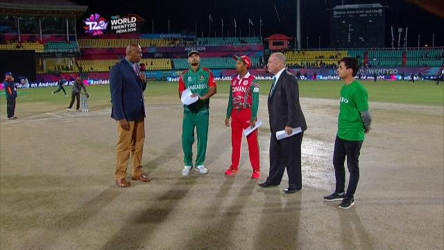 Oman wins Toss against Bangladesh Match 12 ICC WT20 2016