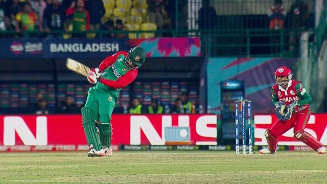 Tamim smashes 91 metre Six