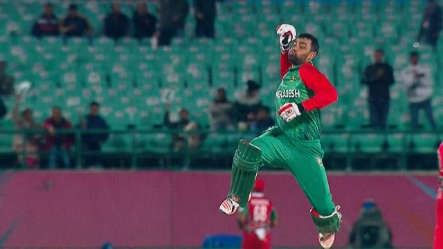Cricket Highlights from Bangladesh Innings v Oman ICC WT20 2016
