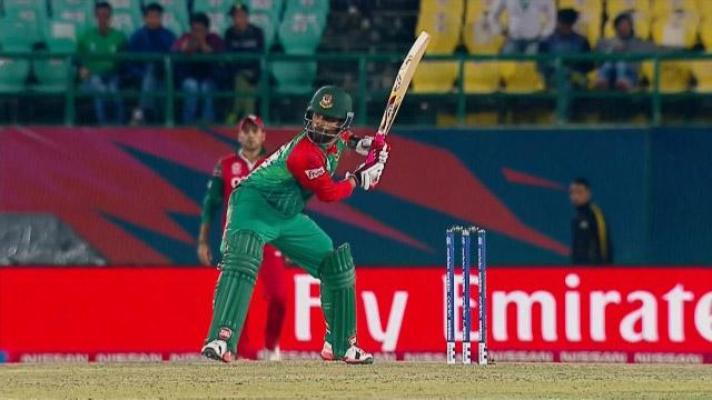 Bangladesh Innings Super Shots v OMA ICC WT20 2016
