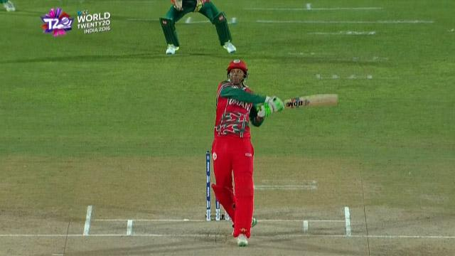 Cricket Highlights from Oman Innings v Bangladesh ICC WT20 2016