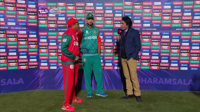 Match Presentation for BAN V OMA Match 12 ICC WT20 2016