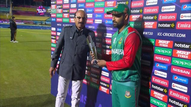 Player of the Match – Tamim Iqbal  – BAN v OMA