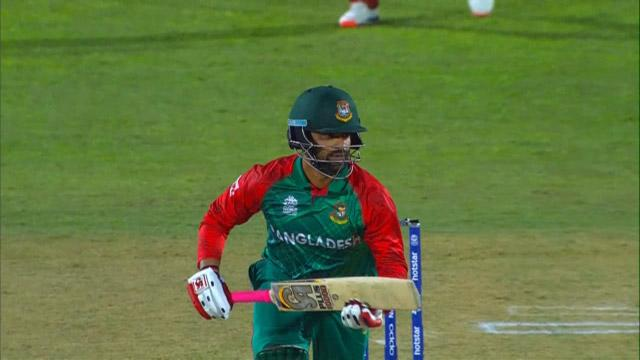 Tamim Iqbal's first T20I century
