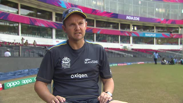 Mike Hesson talks ahead of NZ's opening match v India