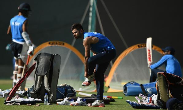 India's practice session, Ind v NZ, ICC World T20