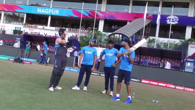 India practice in Nagpur ahead of New Zealand clash