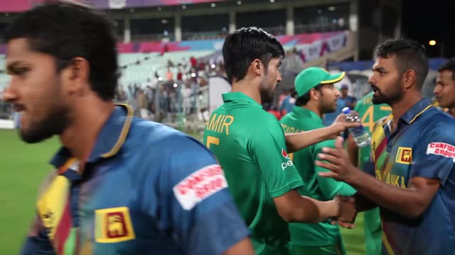 Imad Wasim after Pakistan's warm-up match v Sri Lanka