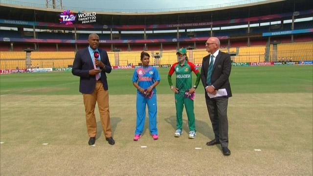 Bangladesh wins Toss against India Match 1 ICC Womens WT20 2016