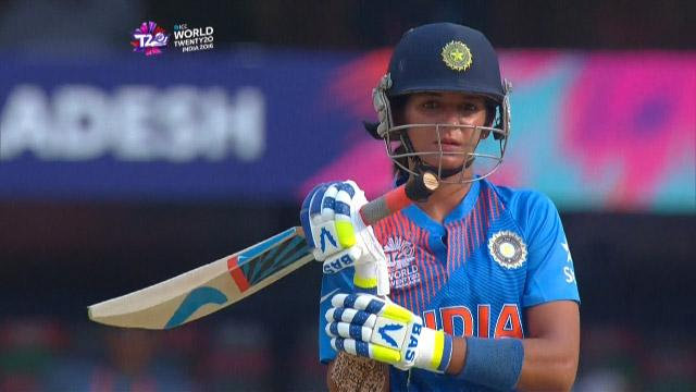 Harmanpreet Kaur Innings for India V Bangladesh Video ICC Womens WT20 2016