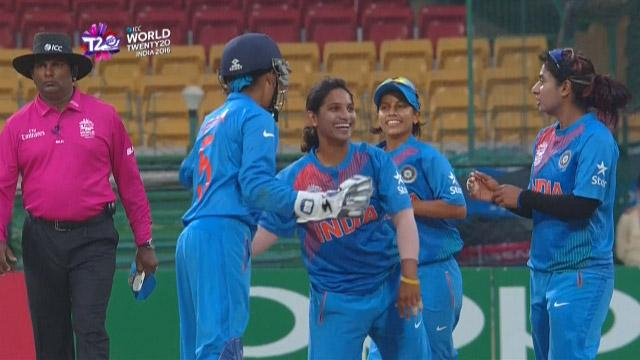 Cricket Highlights from Bangladesh Innings v India ICC Womens WT20 2016