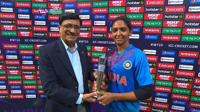 Player of the Match – Harmanpreet Kaur  – IND v BAN