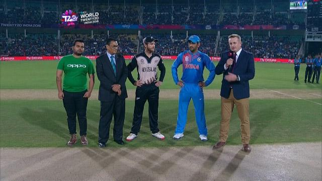 New Zealand wins Toss against India Match 13 ICC WT20 2016