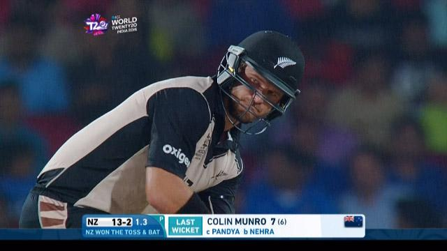 Corey Anderson Innings for New Zealand V India Video ICC WT20 2016