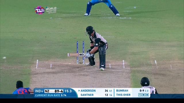 New Zealand wicket Losses v India Video ICC WT20 2016