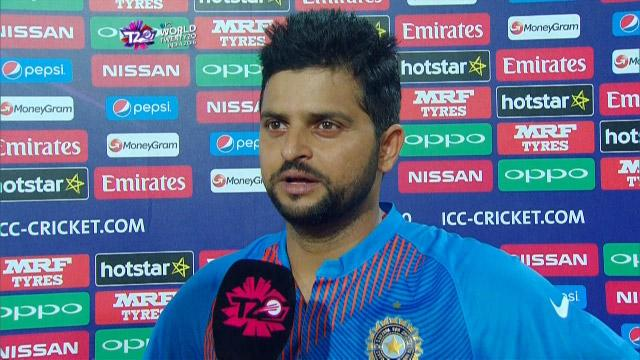Suresh Raina Interview – NZ v IND