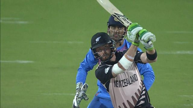 New Zealand Innings Super Shots v IND ICC WT20 2016