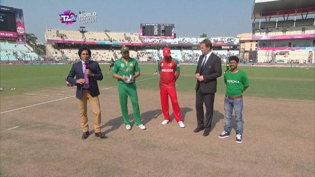 Pakistan wins Toss against Bangladesh Match 14 ICC WT20 2016