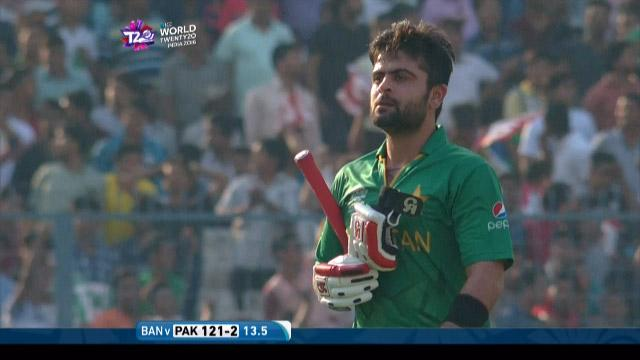 Ahmed Shehzad Wicket Fall PAK V BAN Video ICC WT20 2016