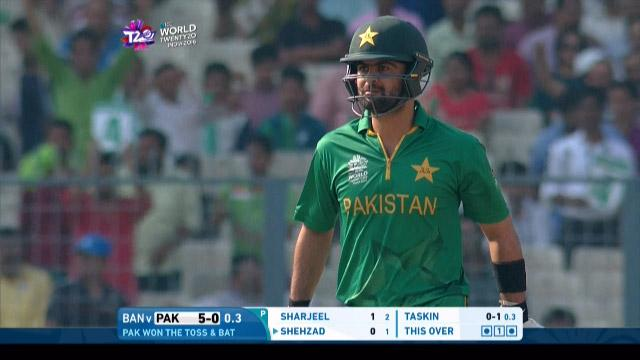 Ahmed Shehzad Innings for Pakistan V Bangladesh Video ICC WT20 2016