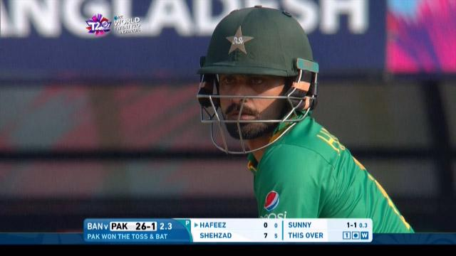Mohammad Hafeez Innings for Pakistan V Bangladesh Video ICC WT20 2016