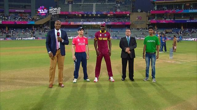 West Indies wins Toss against England Match 15 ICC WT20 2016