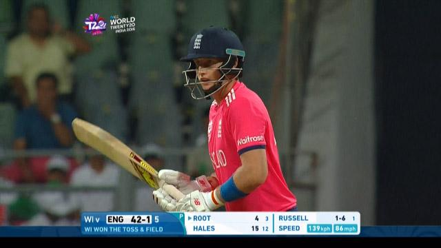Joe Root Innings for West Indies V England Video ICC WT20 2016