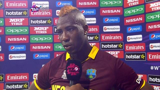 Andre Russell Interview – WI v ENG
