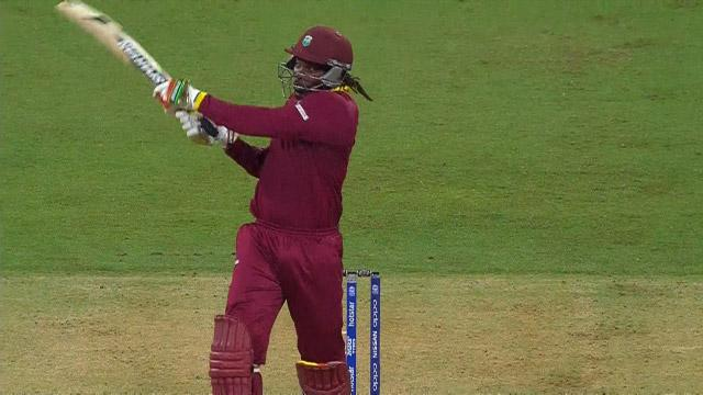 West Indies Innings Super Shots v ENG ICC WT20 2016