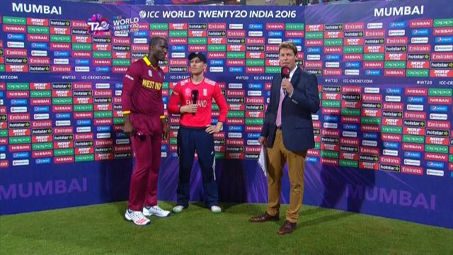 Match Presentation for WI V ENG Match 15 ICC WT20 2016