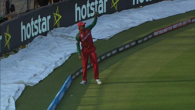 Sarkar's magnificent catch!