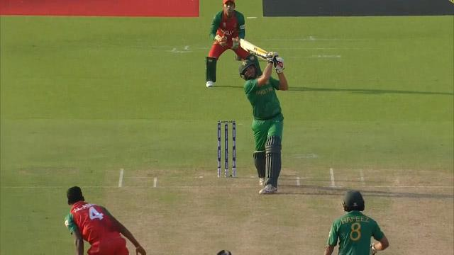 Afridi's goes BOOM with 97 meter Six!