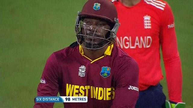 Chris Gayle gigantic Six