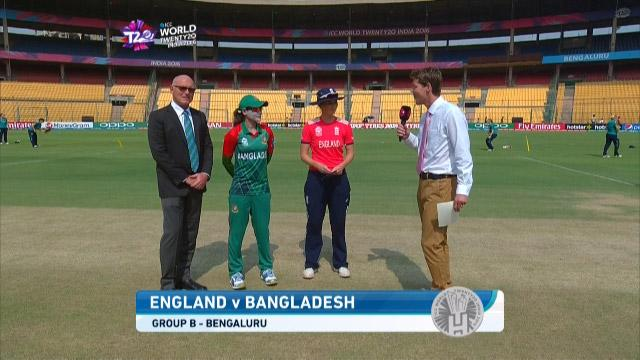 England wins Toss against Bangladesh Match 4 ICC Womens WT20 2016