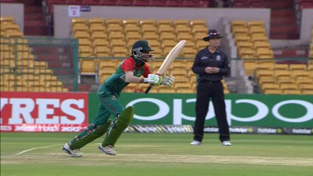 Salma Khatun Innings for England V Bangladesh Video ICC Womens WT20 2016