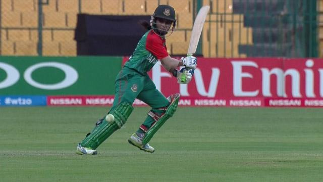 Nigar Sultana Match Hero for Bangladesh v ENG ICC Womens WT20 2016