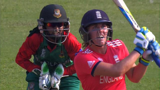 Natalie Sciver Match Hero for England v BAN ICC Womens WT20 2016