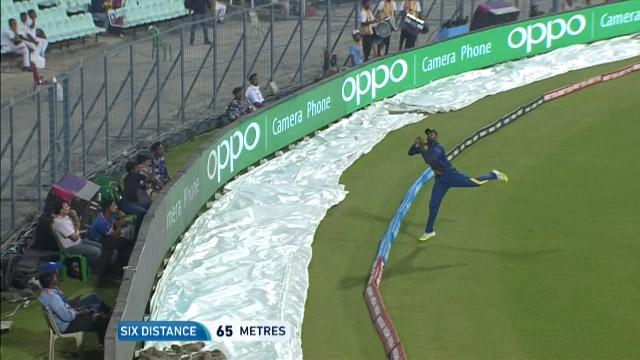Asghar dropped catch goes for Six