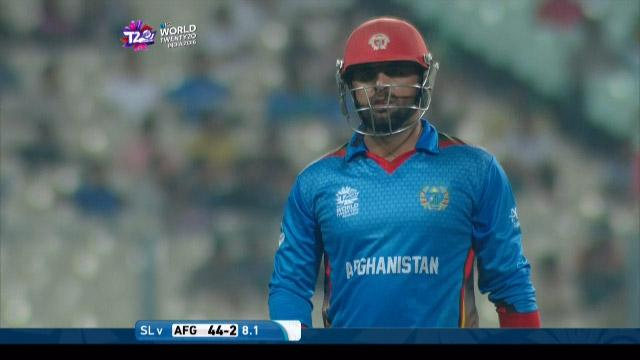Afghanistan wicket Losses v Sri Lanka Video ICC WT20 2016