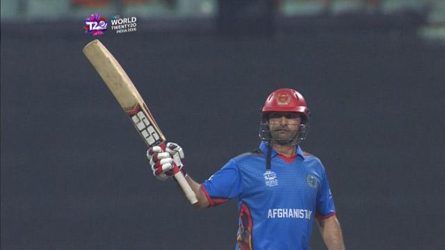 Asghar Stanikzai Match Hero for Afghanistan v SL ICC WT20 2016