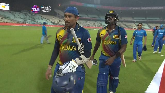 Match highlights – SL v AFG