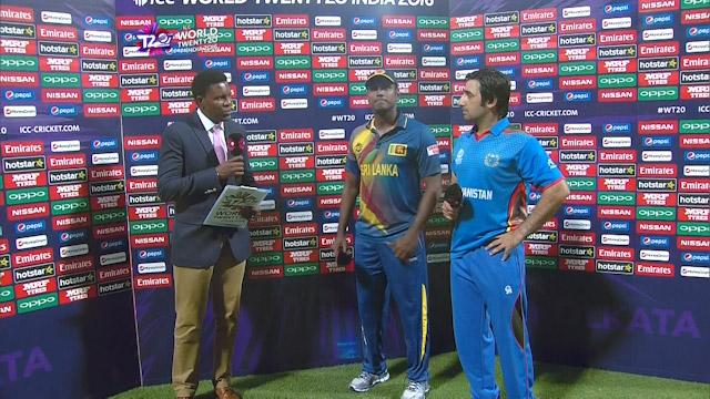 Match Presentation for SL V AFG Match 16 ICC WT20 2016