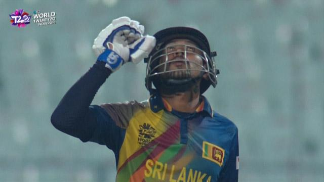 Cricket Highlights from Sri Lanka Innings v Afghanistan ICC WT20 2016