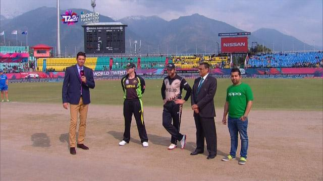 New Zealand wins Toss against Australia Match 17 ICC WT20 2016