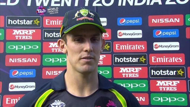 Mitchell Marsh Interview – AUS v NZ