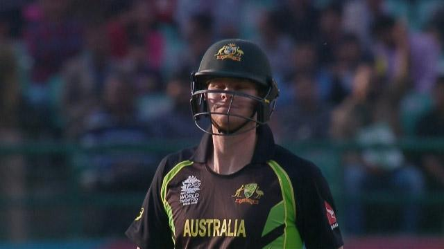 Steven Smith Wicket Fall AUS V Nz Video ICC WT20 2016